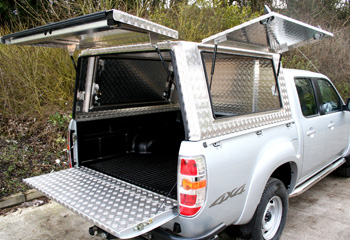 Hodder Mobile Workshop Canopy