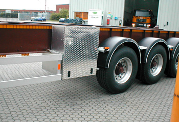 Dry Powder Bulk Tanker Chassis Box