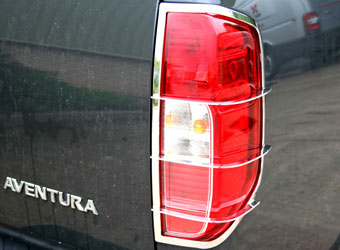 4 x 4 Pickup Stainless Steel Light Guards