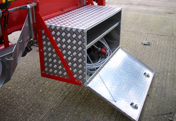 3mm Aluminium Chassis Storage Box