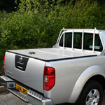 Samson' 3 Piece Hinged Aluminium Top Cover