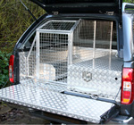 Dog Guard and Secure Storage Drawer