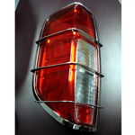 4x4 Stainless Steel Rear Light Guards