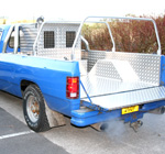 Samson Lining and Box fitted to an American Dodge Ram