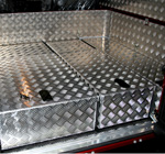 'Land Rover Hard Top Storage Boxes'