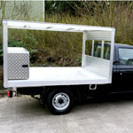 Milk Float Body on Nissan NP300 Single Cab