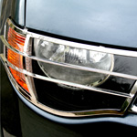 Stainless Steel Front Light Guards