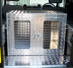 Dog Box to fit in Hard Top Land Rover 90