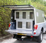 Aluminium Sheep Dog Boxes