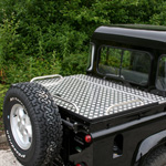 Land Rover 90/110 Samson Hinged Aluminium Top Cover.