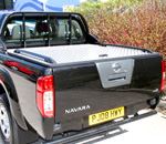 Chequer Tonneau Cover to fit the Nissan Navara D40 Se Model