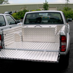 4x4 Aluminium Storage/Tool Box to fit in Between the Wheel Arches